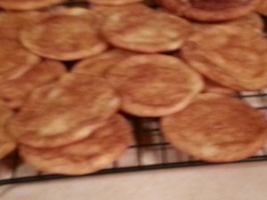 {snicker doodles, Dad doesn't do chocolate or peanut butter}